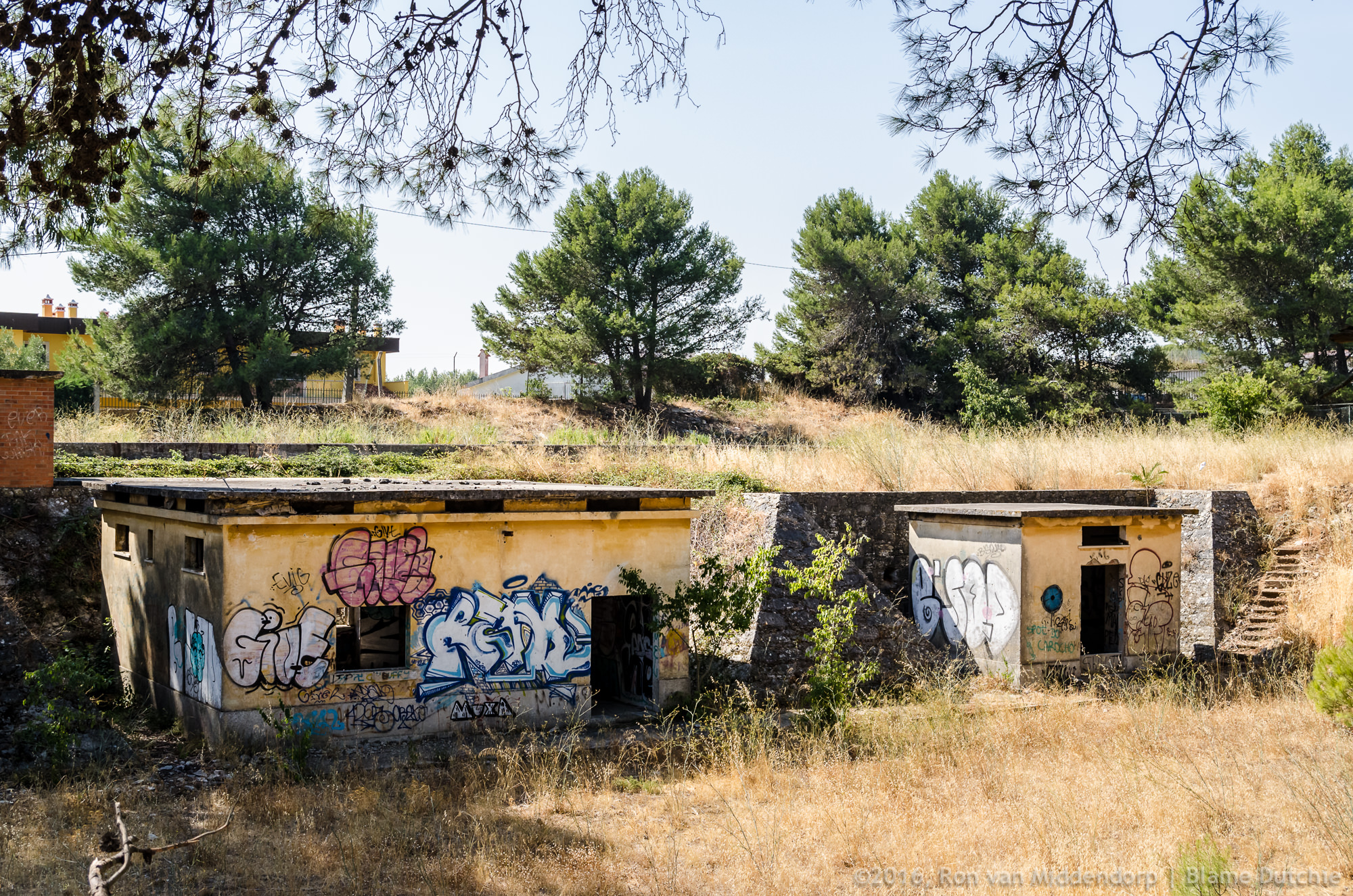 Junkie outhouse